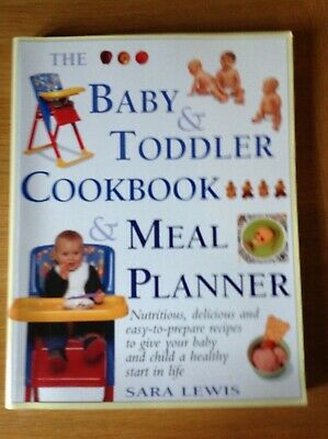 baby and toddler cookbook and meal planner, from purée to family meals