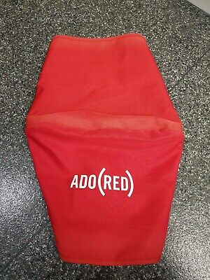 Bugaboo Cameleon (ADO) RED limited edition canvas hood/sun canopy fit cam 1+2
