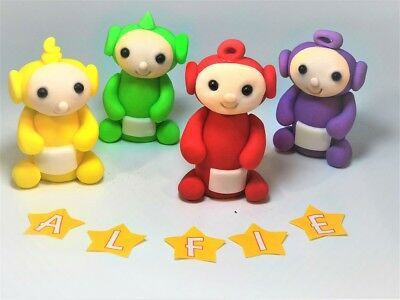 teletubbies cake toppers  personalised birthday decoration