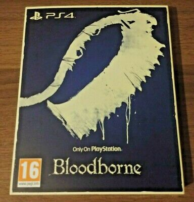 Bloodborne Ps4 The Only On Playstation Collection New Sealed