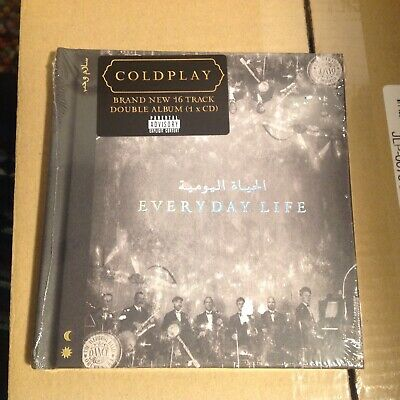 Coldplay Everyday Life. CD New/sealed