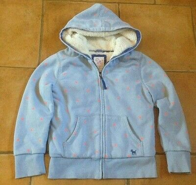Mini Boden ! Age 7 - 8 Years ! Great Jacket With Soft Fur Lining ! Vgc