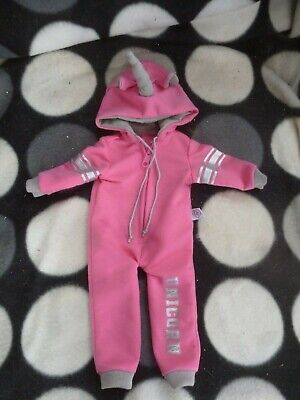 Chad Valley DESIGN A FRIEND Doll ~ UNICORN Hooded OUTFIT Suit CLOTHES