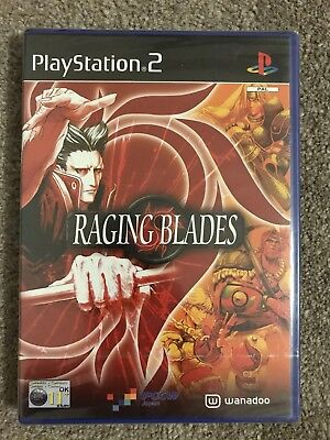 PlayStation 2 Game - Raging Blades (Superb Factory Sealed Condition) UK PAL PS2