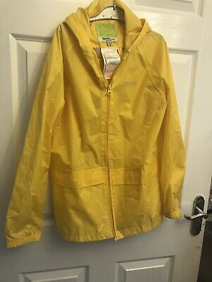 Yellow Girls Regatta Rain Coat Age 13
