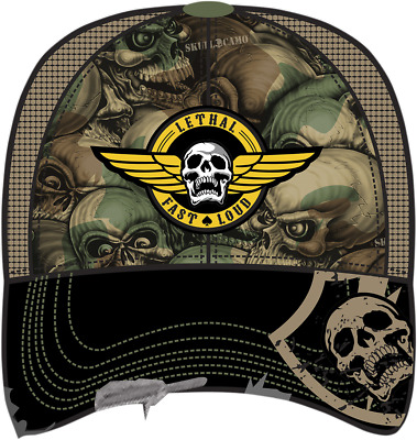 Lethal ThreatHT82017Men's Army Skull Hat