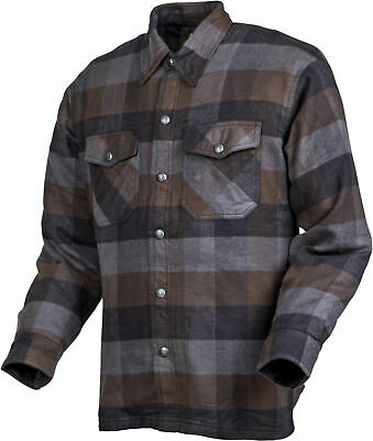 Scorpion Covert Moto Flannel Shirt Size 2X Black/Brown/Grey