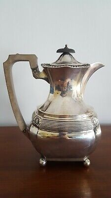 Antique Sterling Silver Coffee Pot Walker And Hall 1901