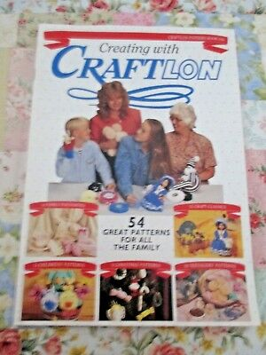 Creating With Craftlon ~ 54 Craft Patterns