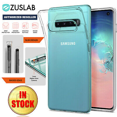 Samsung Galaxy S10 S10e S9 Note 10 9 5G Plus Case ZUSLAB Slim Soft Clear Cover