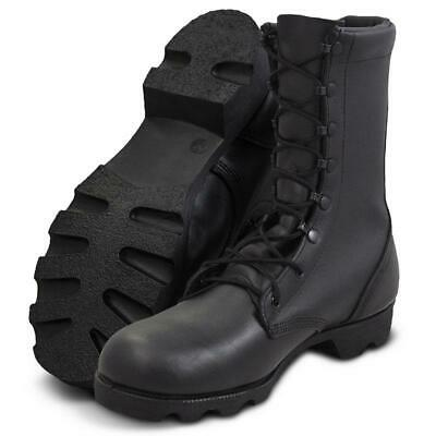 Genuine US Military MCrae All Leather Speedlace Combat Boots Black New SIZE 9.5R