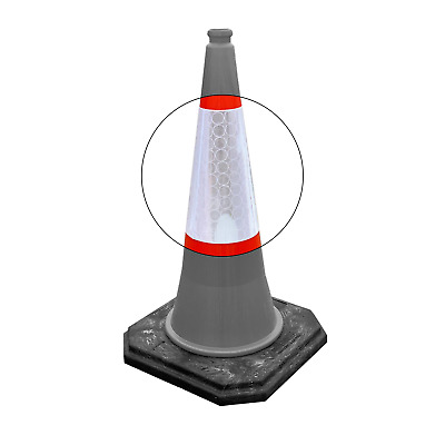 Replacement Traffic Cone Sleeves - 500mm, 750mm & 1000mm - BRAND NEW