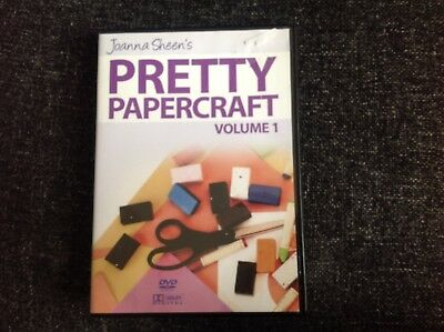 Joanna Sheen's Pretty Papercraft. DVD Video