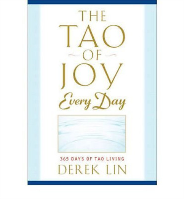Lin, Derek-The Tao Of Joy Every Day (US IMPORT) BOOK NEW