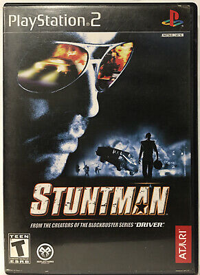 Stuntman (Sony PlayStation 2, Ps2 2002) TESTED COMPLETE CIB