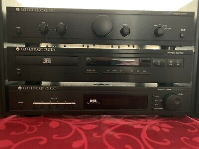 Cambridge Audio hi-fi system with Wharfedale speakers
