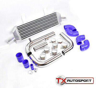 Vauxhall Opel Corsa D VXR SRi Turbo OPC High Performance Intercooler Kit - Blue