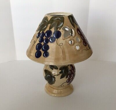 Noble Excellence Meritage Tea Light Lamp Grapes, Leaves