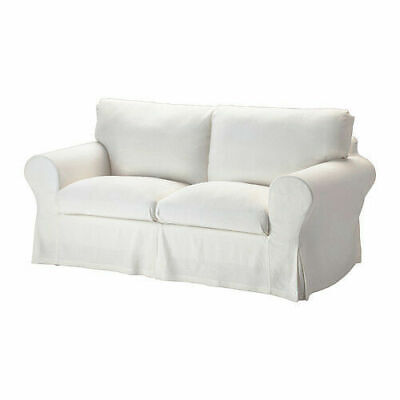 Ikea EKTORP Loveseat Slip Cover 800.475.98 White - BRAND NEW