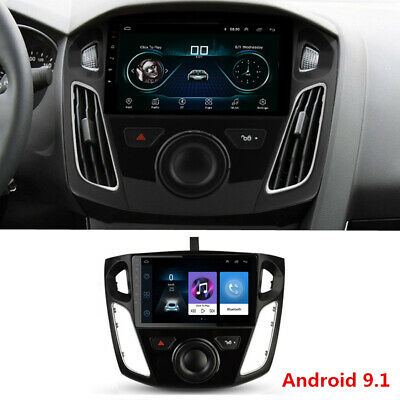 """9"""" Android 9.1 Stereo Radio GPS MP5 Player Wifi FM Canbus For Ford Focus 12-17"""