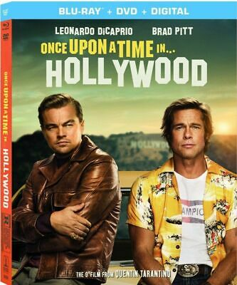 Once Upon A Time In Hollywood (Blu-Ray+DVD+Digital) NEW w/SLIP
