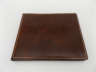 TRUSLOVE & HANSON Leather SKETCHBOOK Drawing NOTEBOOK Diary BOOKBINDING
