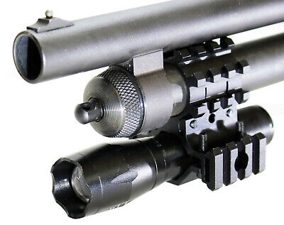 1000 Lumen Tactical Flashlight and red sight For 12 Gauge Mossberg 590.