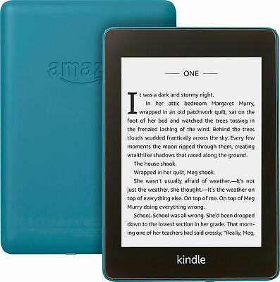 Amazon Kindle Paperwhite 6th Gen 2018 8GB with Special Offers Twilight Blue