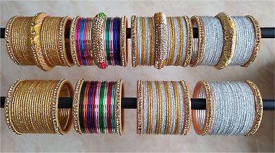 Designer Indian Bangles Chudiya PREMIUM QUALITY Women Costume Fashion Jewellery