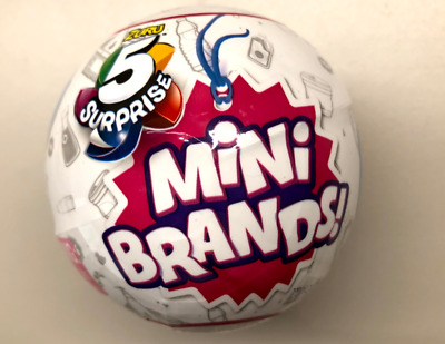 5 Surprise Mini Brands Zuru 1 BALL - Ready to ship NOW! SHIPS FAST AND TODAY!