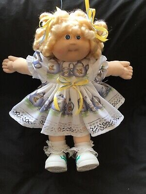 Cabbage Patch Kid Doll Dress Set. Teapots. No Doll.