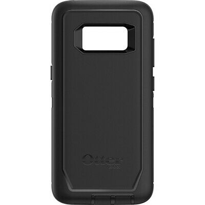 NEW OTHER OtterBox Defender Series Case w/ Holster Clip for Galaxy S8 - Black