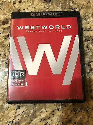 Westworld: The Complete First And Second Season 4k Discs Only