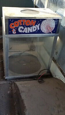 cotton candy booth cabinet top, Gold Medal