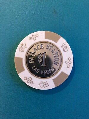 Palace Station Las Vegas Casino Chip Issued 1984