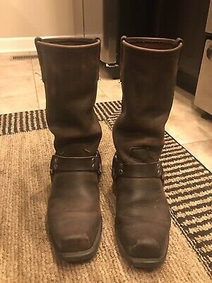 Men's 7.5 Double H Harness Boots Brown