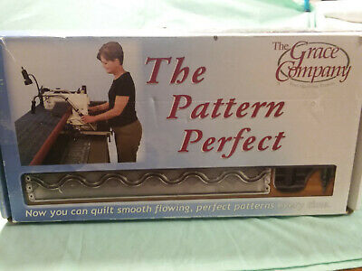 Long Arm Quilting - The Pattern Perfect by Grace Company