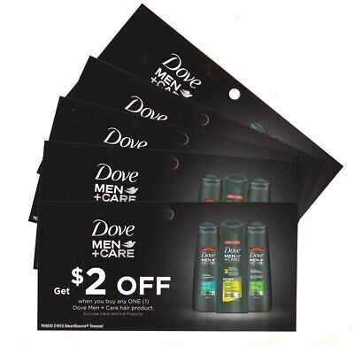 14x Save $2.00 on Dove Men+ Hair Products Coupons (Canada)