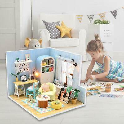 DIY Craft Handmake Dollhouse Miniature Kit Model Dollhouse Kids Educational Toy