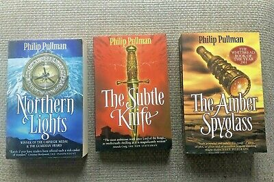 Philip Pullman: His Dark Materials Trilogy, 3 Paperback , Northern Lights,The...
