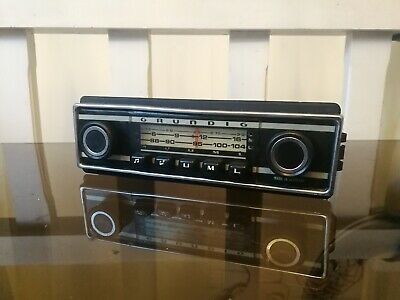 Vintage Autoradio Grundig wkc 3012 1973 for classic car no Becker Blaupunkt 4502