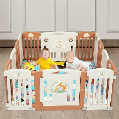 baby enclosure 14-Panel Play Yard Foldable Baby Playpen 14 Panel Activity Center