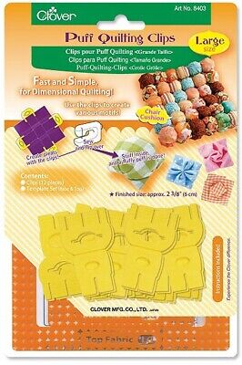 Clover Puff Quilting Clips (Large)