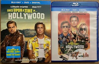 Once Upon A Time In Hollywood Blu Ray Dvd 2 Disc Set + Slipcover Sleeve Buy It