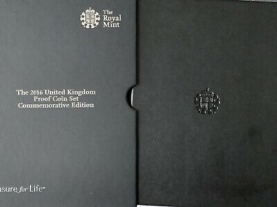 2016 Royal Mint Commemorative Proof Coin Set Presentation Case NO COINS INCLUDED