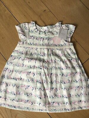 Next Baby Girls Two Piece Set Dress & Knickers Brand New With Tags Age 6-9Months