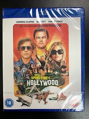 Once Upon a Time in Hollywood - Blu Ray - Official UK Stock New & Sealed
