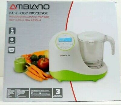 AMBIANO: BABY FOOD PROCESSOR  Brand New
