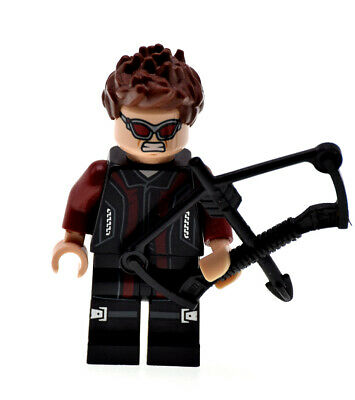 Hawkeye (Marvel Super Heroes) 76030 76042 with Bow Genuine LEGO Minifigure