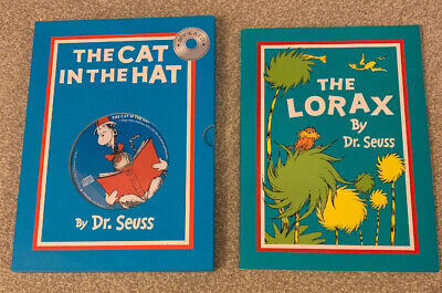 Dr Seuss Boxed The Cat In The Hat With CD & The Lorax